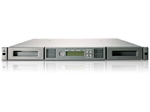 HPE StoreEver 1/8 G2 LTO-7 Ultrium 15000 FC Tape Autoloader (1U, incl. Flyer for Yosemite Server Backup software)
