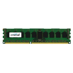 Crucial by Micron DDR-III  8GB (PC3-12800) 1600MHz ECC Reg, SR x4, 1.35V (Retail) (Analog Micron MT18KSF1G72PZ-1G6P1
