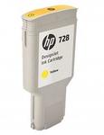 Cartridge HP 728 Желтый для DesignJet T730, 300ml