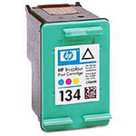 Cartridge HP 134 к DJ 6543/5743/5740/6843, PS 325/375/8153/8453, color (14ml)