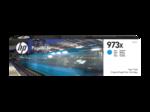 Cartridge HP 973X  PageWide увеличенной емкости, для PW Pro 477/452, синий (7000 стр.)