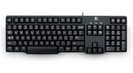 Logitech Keyboard K100, PS/2, black, [920-003200]