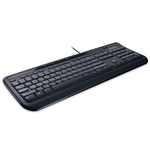 Microsoft Wired Keyboard 600, USB, Black