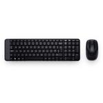 Logitech Wireless Desktop MK220 (Keybord&mouse), USB, Black, [920-003169]