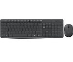 Logitech Wireless Desktop MK235, (Keybord&mouse),  USB, Black, [920-007948]