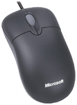 Microsoft Basic Mouse, USB, Black