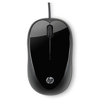 Mouse HP X1000 (Black) cons