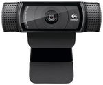 Logitech Webcam  Full HD Pro C920, 10MP, 1920x1080, [960-000769/960-001055 ]