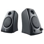 Logitech Speaker System Z130, 2.0, 5W(RMS) Black, [980-000418]