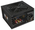 Блок питания 600W ATX ZALMAN, ZM600-LEII ATX 12V V2.3, 120mm fan, active PFC, Cord 220V EU, размер упаковки: 18*10*27см
