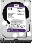 Western Digital HDD SATA-III  3000Gb Purple WD30PURZ, IntelliPower, 64MB buffer (DV&NVR)