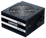 Chieftec PSU GPS-500A8 500W Smart ser ATX2.3 230V Brown Box 12cm 80%+ Fan Active PFC 20+4, 8(4+4)p,8(6+2)p, 4xSATA, 2xMolex+Floppy