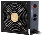 Chieftec PSU APS-550CB EPS12V 550W Cable Manag APFC Retail 14cm Fan, 85+, Fix 24,4+4, Cable Management 2x(6+2), 2x(MolexX2+fdd), 2x(SATAx3)