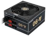 Chieftec PSU GDP-650C 650W A-90 ATX2.3/EPS12V 230V CabMan RT 90%+ 14cm Fan Active PFC Fix:20+4, 8(4+4)p Mod:2x8(6+2)p,2x(SATAx3),3xMolex+Flop