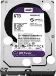 Western Digital HDD SATA-III  6000Gb Purple WD60PURZ, IntelliPower, 64MB buffer (DV&NVR)