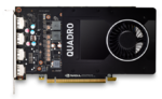 PNY Nvidia Quadro P2000 5GB PCIE 2xDP 160-bit DDR5 1024 Cores 4xDP to DVI-D (SL) adapter, Retail