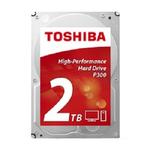 """Toshiba Desktop P300 3.5"""" HDD SATA-III   2000Gb, 7200rpm, 64MB buffer"""