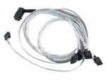 Adaptec ACK-I-rA-HDmSAS-4SATA-SB-0.8M (2280000-R) Кабель SAS внутр., 80см., разъемы SFF8643(угловой) -to- 4*SATA(прямой)+SideBand