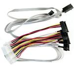 Adaptec ACK-I-HDmSAS-4SAS-SB-0.8M (2280100-R) Кабель SAS внутр., 80см., разъемы SFF8643 -to- 4*SFF8482+SideBand