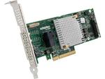 Microsemi Adaptec ASR-8405E (PCI-E v3, MD2, LP) SGL SAS 12G, RAID 0,1,10, 4port(intSFF8643), 512Mb cache, каб. 2279800-R не вкл.
