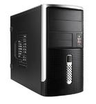 Mini Tower InWin EMR-001  Black/Silver  450W 2*USB+AirDuct+Audio mATX