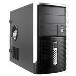 Mini Tower InWin EMR001 Black/Silver 500W 2*USB+AirDuct+Audio mATX