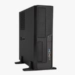 Slim Case InWin BL040 Black/Silver 300W 2*USB2.0+2*USB3.0+AirDuct+Fan+Audio mATX
