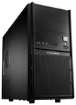 "Корпус Elite 342 (RC-342-KKN6-U3) <чёрный, micro-ATX, без БП, mATX, поддержка полноразмерных видеокарт, отсеки 2х5.25"" внешних, 1х3.5"" внешн. и 5х3.5"" внутр., USB 3.0x2 ,динамики x1 , микрофон x1>"