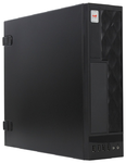 Slim Case InWin CE052S Black 300W 2*USB3.0+2*USB2.0+AirDuct+Fan+Audio mATX.