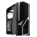 Корпус NZXT CA-PH410-B2, Черный с белыми вставками, ATX, без БП, windows, 2x USB 3.0, 2x USB 2.0, 215 x 516 x 532 mm