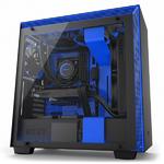 Корпус NZXT CA-H700W-BL H700i SMART ATX MATTE BLACK/BLUE