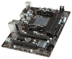 MSI A68HM-E33 V2 (Socket FM2+, AMD A68H, All Solid CAP, 2DDR3, 1PCIe x16, 1PCIe x1,1xPCI,2USB3.0, 4SATA 6Gb/s,Dual Graphic, GbE LAN, D-SUB, HDMI) mATX