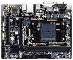 Gigabyte GA-F2A68HM-DS2 (Socket FM2+, AMD A68H, 2*DDR3 2400, VGA (D-Sub, DVI), PCI-Ex16, 1*PCI, Gb Lan, Audio(S/PDIF Out), USB 3.0, SATA RAID) mATX ; GAF268MS2-00-G11