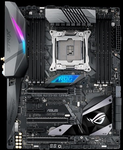 ASUS ROG STRIX X299-XE GAMING, LGA2066, X299, 8*DDR4 , SLI+CrossFireX, SATA3 + RAID, Audio, Gb LAN*1, USB 3.1*11, USB 2.0*4, COM*1 header (w/o cable), ATX ; 90MB0VW0-M0EAY0