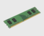 Kingston DDR-III 2GB (PC3-10600) 1333MHz CL9 x 16 Single Rank