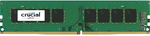 Crucial by Micron  DDR4  16GB 2400MHz UDIMM  (PC4-19200) CL17 DRx8 1.2V (Retail)