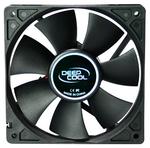 Вентилятор DEEPCOOL Xfan120 120x120x25мм (64шт./кор, пит. от мат.платы и БП, черный, 1300об/мин)  Retail blister