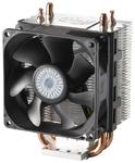 CPU Fan Hyper 101(RR-H101-30PK-RU) <retail,прозрачный блистер, для LGA1150/1155/1156/775 & AM3/AM2+/AM2, макс. потребляемая мощность 3,12 Вт, TDP 70-95Вт, 80х80х25 мм, PWM, 800-3000 об/мин, 13-28dBA>