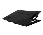 """Система охлаждения нотбука ZM-NS2000 <retail, черная, для ноутбуков 17"""", размеры: 375 x 275 x 26.7 ~ 51.3 mm, интерфейс: USB2.0 x 3, USB Input x 1, вентилятор 200мм>"""