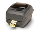 TT Printer GX420t; 203dpi, EU and UK Cords, EPL2, ZPL II, USB, Serial, Centronics Parallel
