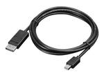 Lenovo Mini-DisplayPort to DisplayPort Cable 2м