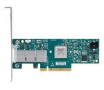 Mellanox ConnectX®-3 VPI adapter card, single-port QSFP, FDR IB (56Gb/s) and 40/56GbE, PCIe3.0 x8 8GT/s, tall bracket, RoHS R6