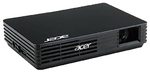 Acer projector C120, Pico LED,  FWVGA, 2000:1, 100 Lm,USB power,180g,Bag, old p/n EY.JE001.001, replace EY.JC405.001 (C112)