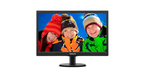 "19,5"" Philips  203V5LSB26 1600x900 TN LED 16:9 5ms VGA 10M:1 90/50 200cd Black"