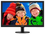 "27"" Philips 273V5LHAB 1920x1080 TN LED 16:9 1ms VGA DVI-D HDMI 10M:1 170/160 300cd Аудиовход ПК, Выход для наушников Speakers Black"