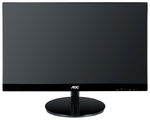 "27"" AOC I2769VM 1920x1080 IPS LED 16:9 5ms VGA DVI 2*HDMI DP MHL 50M:1 178/178 250cd Speakers Black/Silver"