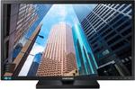 "Samsung 23.6"" S24E650PL PLS 1920х1080 4ms 250cd 178/178 D-Sub HDMI DP 2*USB Has Pivot Tilt Speakers VESA Black"