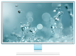 "Samsung 27"" S27E391H PLS LED 16:9 1920x1080 4ms 1000:1 300cd 178/178 D-Sub HDMI Glossy White"