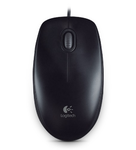 Logitech B100 Optical Mouse, USB, 800dpi, Black, [910-003357]