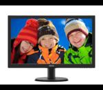 "23,6"" Philips 243V5QSBA 1920x1080 MVA LED 16:9 8ms VGA DVI 10M:1 178/178 250cd Black"